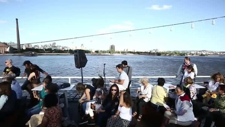 Neto Fagundes e Shana Müller falam de sua relação com Porto Alegre