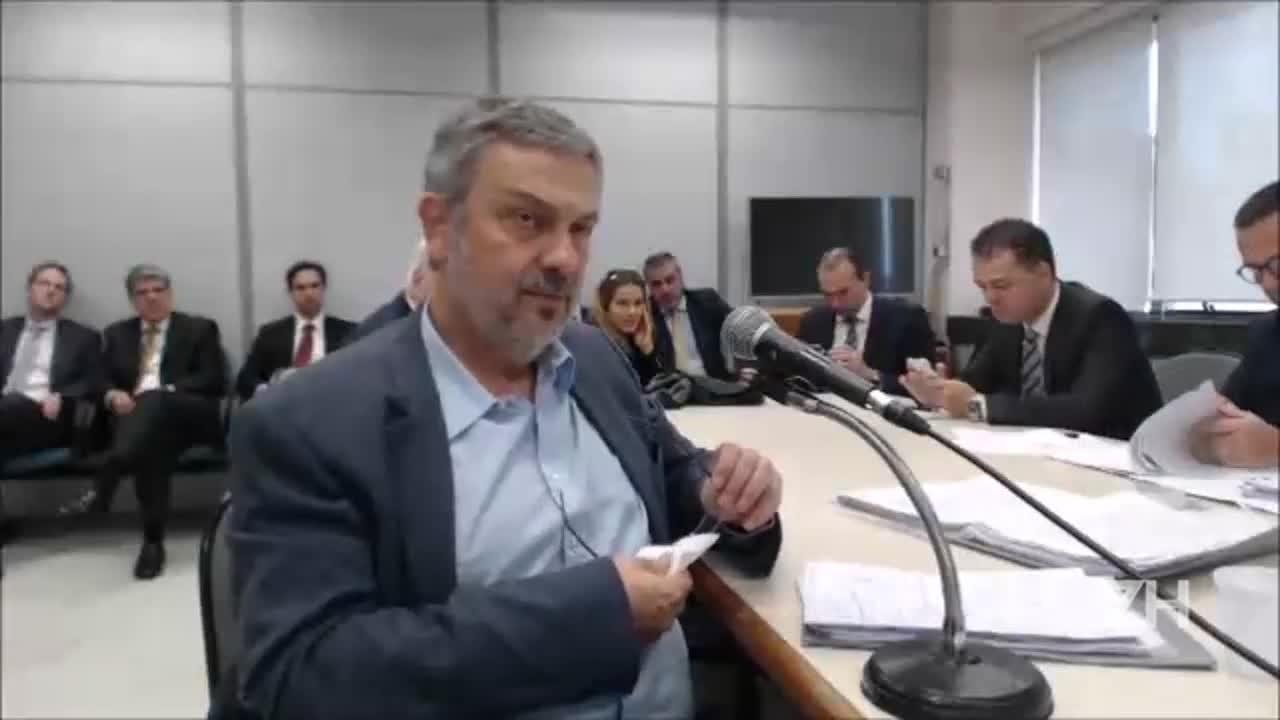 Palocci diz estar à disposição de Moro para apresentar nomes e operações