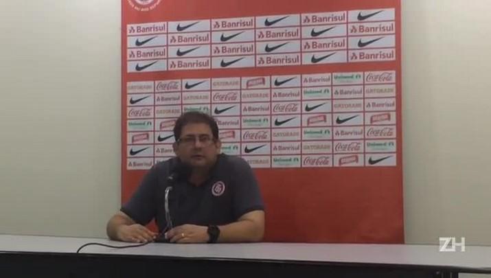 Guto Ferreira fala sobre os problemas de bola aérea do Inter