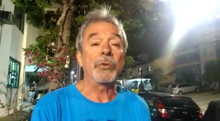 Entrevista com pai de acusado de atropelar e matar duas pessoas em São José