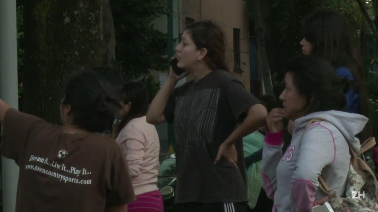 Duas mortes em novo terremoto no México
