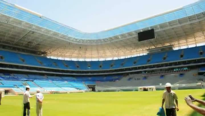 Fábio Koff visita a Arena