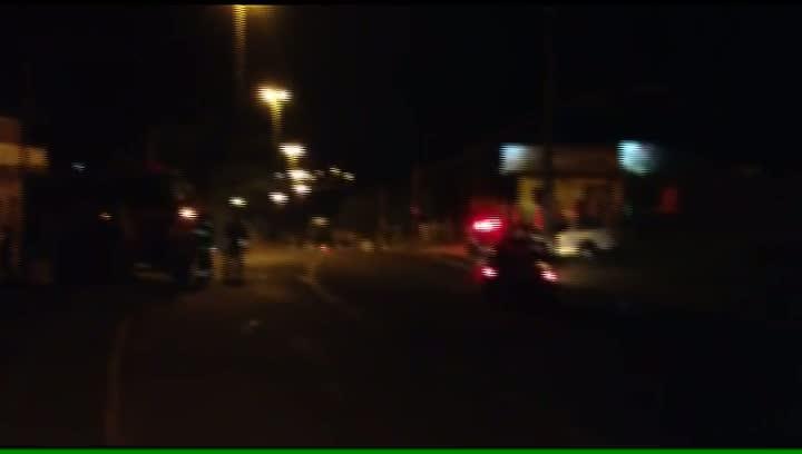 Moradores da Lomba do Pinheiro protestam pela falta de energia elétrica