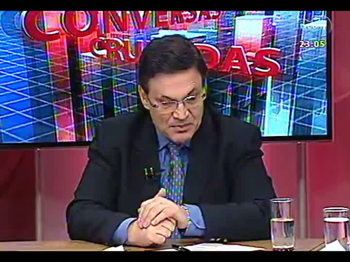 Conversas Cruzadas - Realidade das estradas do RS: motivos pelos quais são tão ruins e possíveis soluções para os problemas - Bloco 4 - 11/03/2013