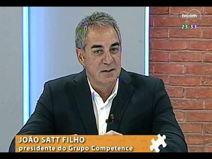 Mãos e Mentes - Estrategista de negócios e marcas e presidente do grupo Competence, João Satt Filho - Bloco 1 - 26/03/2013