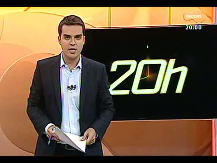 TVCOM 20 Horas - Detalhes sobre a Operação PC-27, em comemoração aos 205 anos da Polícia Civil no país - Bloco 1 - 09/05/2013