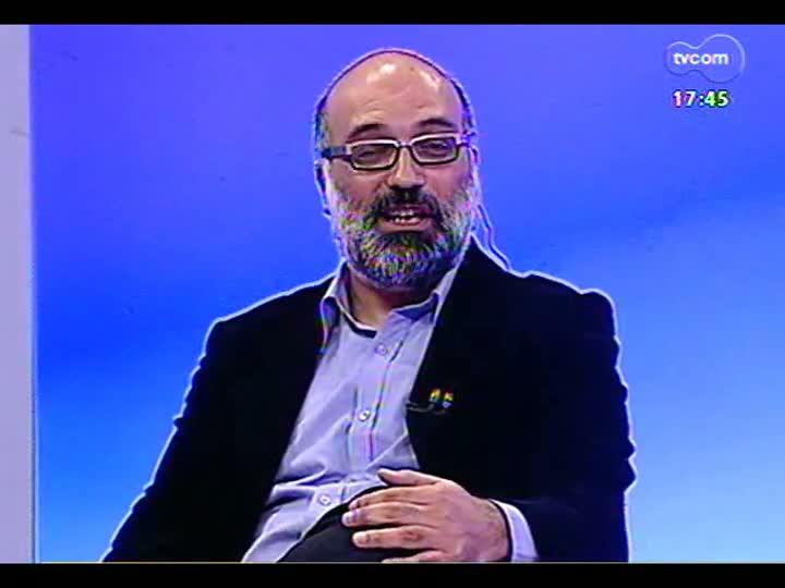 Programa do Roger - Professor Gustavo Fischer fala sobre a Semana da Imagem da Unisinos - bloco 1 - 21/05/2013