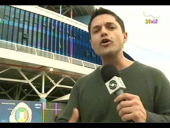 Porto da Copa Especial - Após o amistoso Brasil x França, o programa faz uma análise detalhada da infraestrutura da cidade, com destaque à mobilidade urbana - Bloco 6 - 09/06/2013