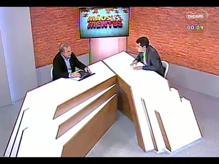 Mãos e Mentes - Presidente da Cooplantio, Daltro Benvenuti - Bloco 4 - 06/08/2013