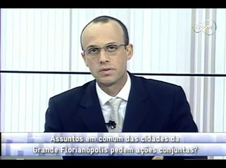 Conversas Cruzadas - Região Metropolitana Grande Florianópolis - 4º Bloco – 22-08-2013