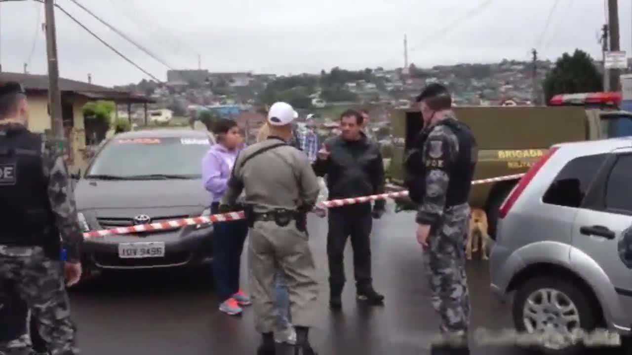 Homem é executado em Caxias do Sul. 03/10/2013