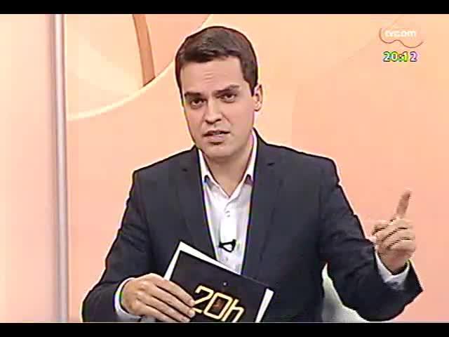 TVCOM 20 Horas - Entrevista com o prefeito de Porto Alegre em exerício, Sebastião Melo - Bloco 2 - 07/10/2013