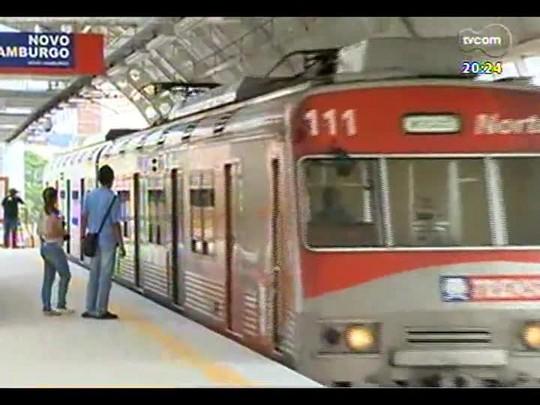TVCOM 20 Horas - Novas estações do Trensurb e os vencedores do Prêmio RBS de Educação - Bloco 3 - 02/12/2013