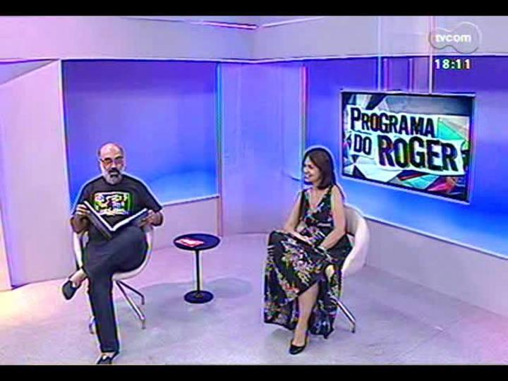 Programa do Roger - Conversa com a fotógrafa Lisette Guerra sobre o livro \'Cuba\' - Bloco 3 - 09/12/2013