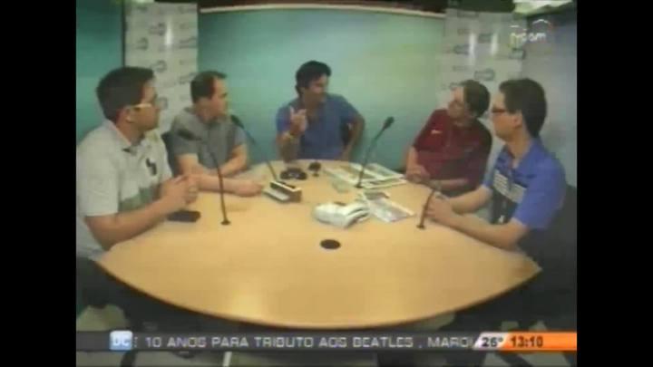 DC e CBN/Diário entrevistam o coordenador de futebol do Avaí Chico Lins