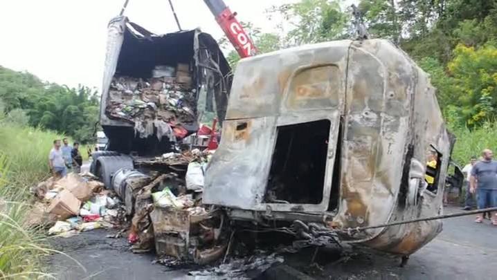 Acidente na SC-108, em Massaranduba