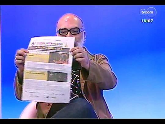 Programa do Roger - 6º Festival Internacional Teatro de Rua de Poa, Alexandre Vargas, coordenador - Bloco 2 - 17/04/2014