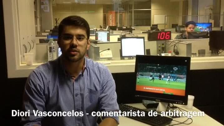 Grêmio teve pênalti não marcado em confronto contra o San Lorenzo - 23/04/2014