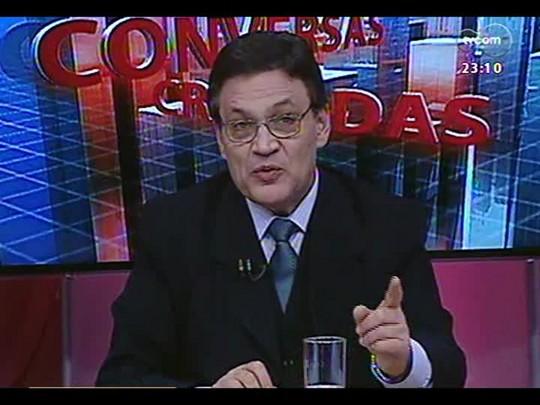 Conversas Cruzadas - Justiça de Caxias do Sul solta quatro réus porque Susepe não os levou para audiência - Bloco 4 - 07/08/2014