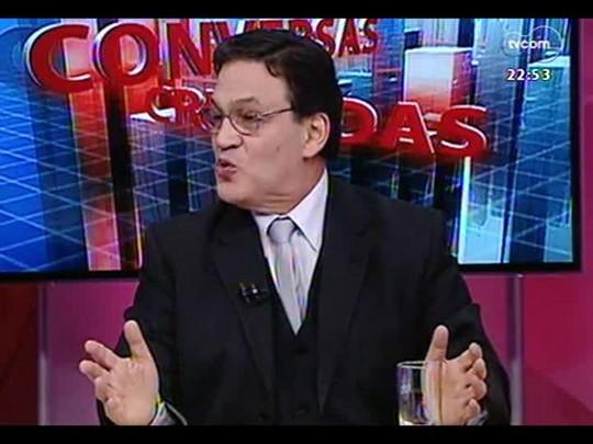Conversas Cruzadas - As repetidas multas por excesso de velocidade e os problemas e dificuldades de fiscalização - Bloco 3 - 15/08/2014