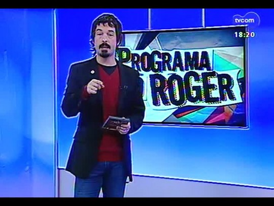 Programa do Roger - Roger direto do Festival de Cinema de Gramado - Bloco 4 - 14/08/2014