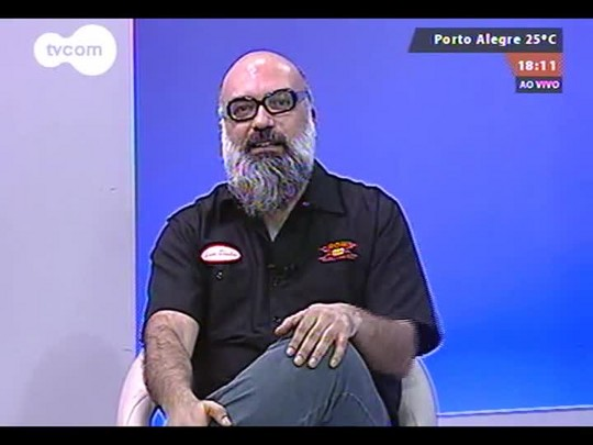"""Programa do Roger - Gustavo Fogaça, diretor \""""A Casa Elétrica\"""" - Bloco 3 - 21/08/2014"""
