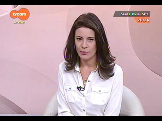 TVCOM 20 Horas - Presidente do Sindilojas Porto Alegre Paulo Kruse fala sobre a expectativa de aumento nas vendas para o Natal - 08/12/2014