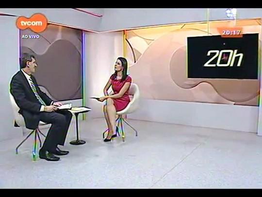 TVCOM 20 Horas - Presidente da Assembleia Legislativa Gilmar Sossella faz um balanço do ano de 2014 - 22/12/2014