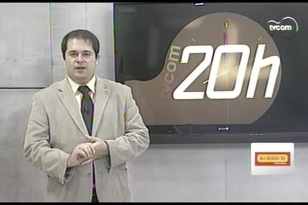 TVCOM 20 Horas - A cidade se prepara para o revéillon - 26.12.14