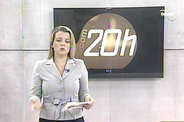 TVCOM 20h - Taxa de preservação ambiental deve começar a ser cobrada nesta terça-feira em Bombinhas - 29.12.14