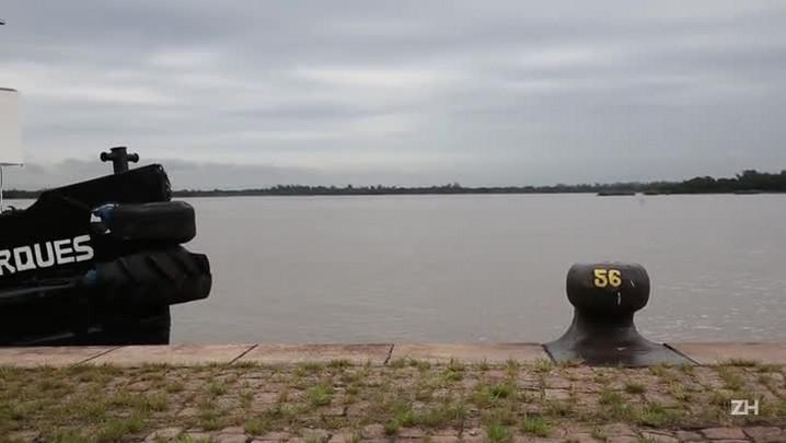 A vida de um Prático: o homem que manobra navios na Lagoa dos Patos