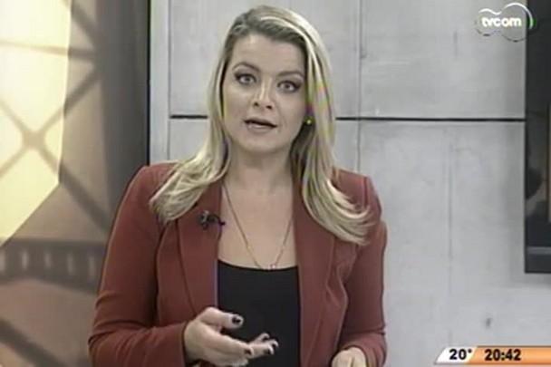 TVCOM 20 Horas - Feira calçadista reúne mais de 50 marcas em Balneário Camboriú - 13.05.15