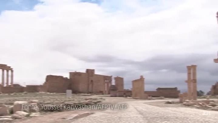 EI entra em cidade histórica da Síria