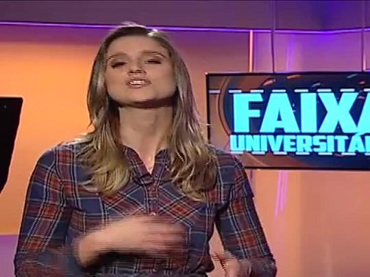 Faixa Universitária - Olimpíada Rural, da UFSM