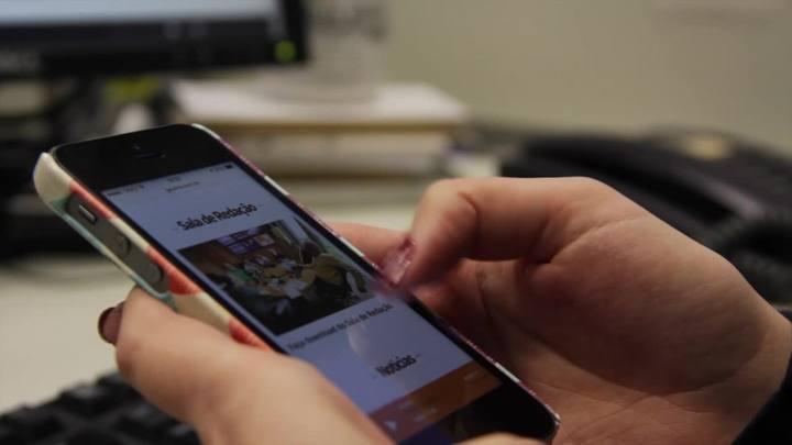 Veja os bastidores da reda��o digital da Ga�cha