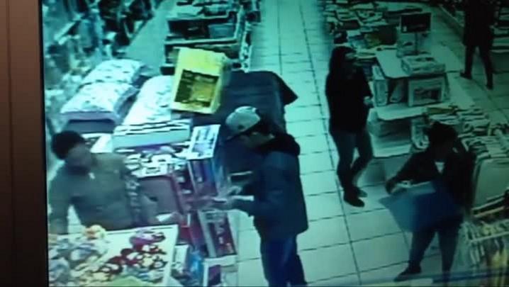 Mulher furta em loja P&S de Santa Maria