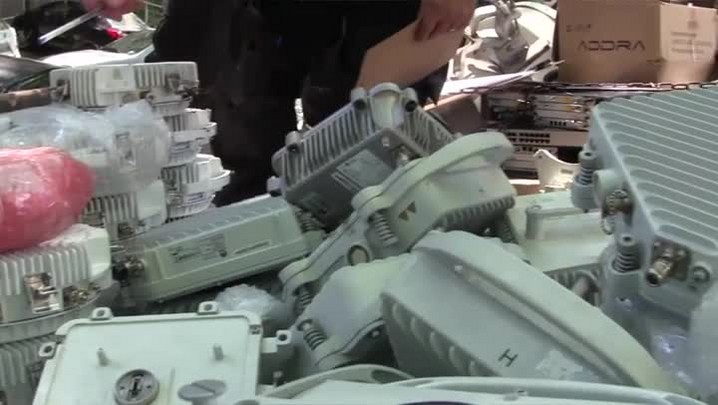 Polícia apreende R$ 3 milhões em equipamentos furtados de torres de celular