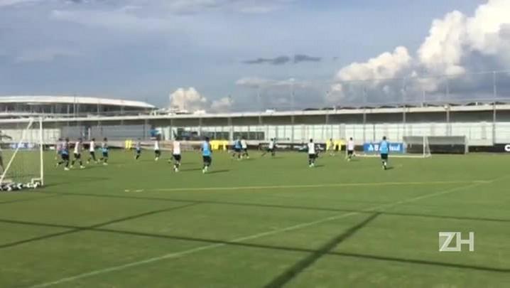 Grêmio faz trabalho técnico nesta quinta-feira