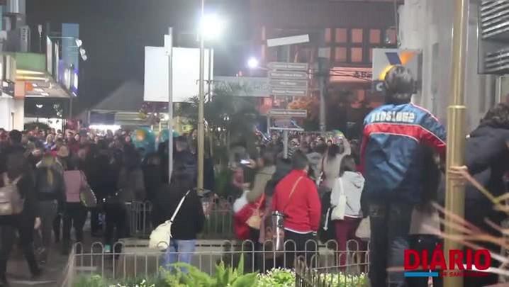 Flash Mob realizado em comemoração ao Dia Internacional da Dança