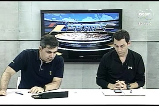 TVCOM Esportes. 3º Bloco. 04.08.16
