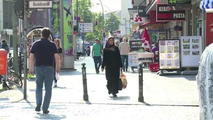 Alemanha quer proibir uso da burca