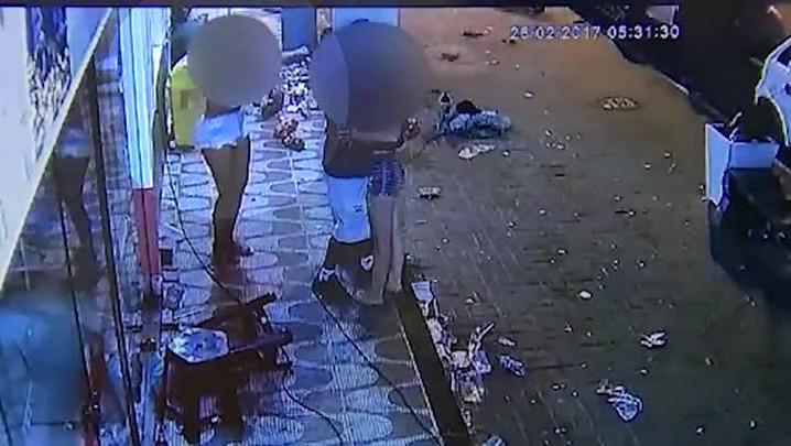 Câmeras de segurança registram tiroteio que matou adolescente grávida