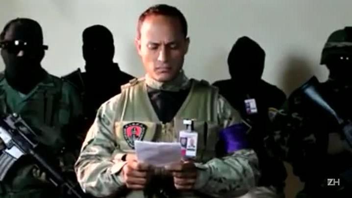 Venezuela: suposto autor de ataque aéreo pede eleições