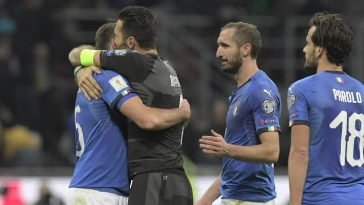 Itália está fora da Copa de 2018