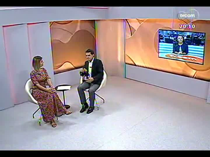 TVCOM 20 Horas - 04/01/13 - Bloco 2 - Entrevista com a deputada federal Manuela D\'Ávila
