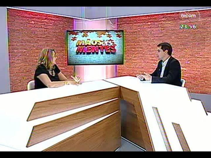 Mãos e Mentes - Diretora executiva do Tecnosinos, Susana Kakuta - Bloco 3 - 04/04/2013