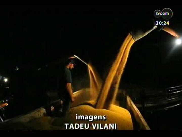 TVCOM 20 Horas - Gargalos do escoamento da supersafra de soja do RS - Bloco 3 - 14/05/2013