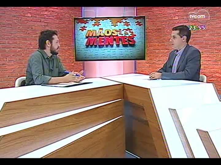 Mãos e Mentes - Editor de Copa da Zero Hora, Rodrigo Müzell - Bloco 3 - 22/05/2013