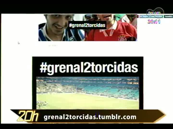 TVCOM 20 Horas - Confira a repercussão sobre a decisão de torcida única no próximo Gre-Nal - Bloco 2 - 30/07/2013