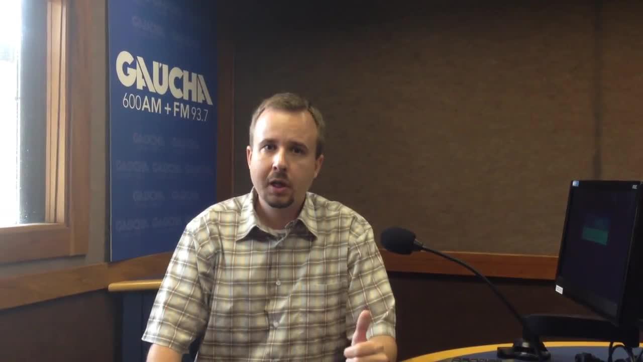 Leandro Staudt é o novo apresentador do Debates do Rio Grande. 10/10/2013